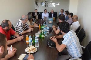 Türkiye Gazeteciler Konfederasyonu Başkanı Kolaylı'dan Çorlu Gazeteciler Derneği'ne Ziyaret 01